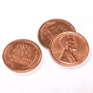 Steel Core Penny (3 Pennies)