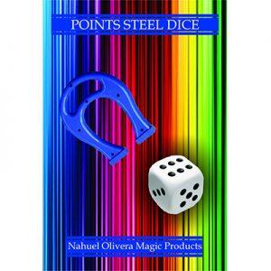 Points Steel Dice (2 Dice Set)