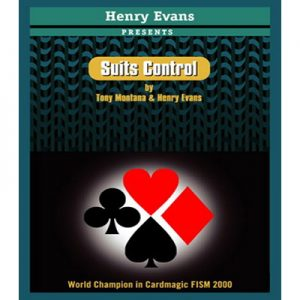 Suits Control (RED) by Henry Evans