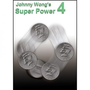 Johnny Wong's Super Power 4 (with DVD) -by Johnny Wong