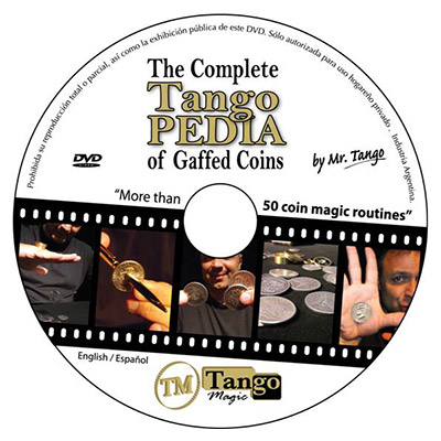 Okito Coin Box (Aluminum w/DVD)(A0026) One Dollar by Tango Magic s