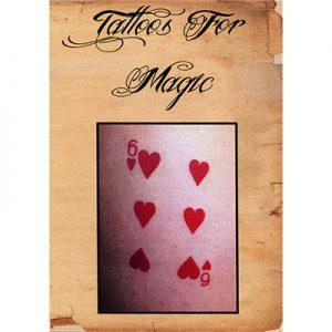 Tattoos (Three Of Diamonds) 10 pk.