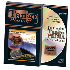 Copper and Silver Half Dollar 1964 (w/DVD) (D0140) by Tango s