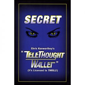 Telethought Wallet (LARGE) by Chris Kenworthey