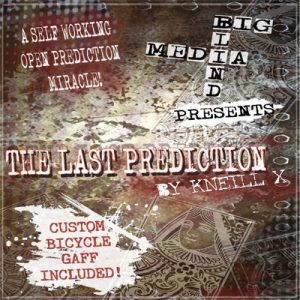The Last Prediction by Kneill X and Big Blind Media - DVD