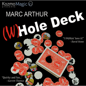 The (W)Hole Deck Red by Marc Arthur and Kozmomagic - DVD