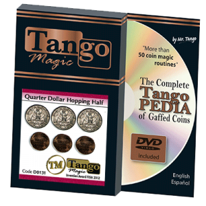 Hopping Half with Quarter (w/DVD) (D0131) by Tango