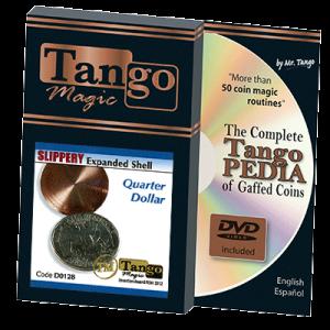Slippery Shell Quarter (w/DVD)(D0128) by Tango Magic s