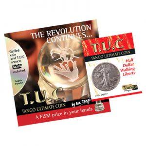 Tango Silver Line T.U.C. (D0117) Walking Liberty Half Dollar (w/DVD) by Tango