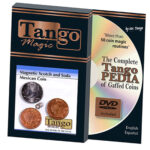 Scotch and Soda Magnetic Mexican Coin (D0052) by Tango -Trick