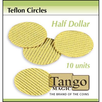 Teflon Circle Half Dollar size (10 units) by Tango -Trick (T001)