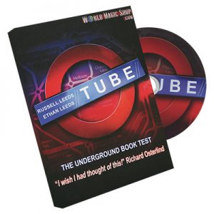Tube (2 Gimmicked Maps both Stage and Parlor) by Russell and Ethan Leeds
