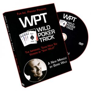 Wild Poker Trick (WPT) by Boris Wild