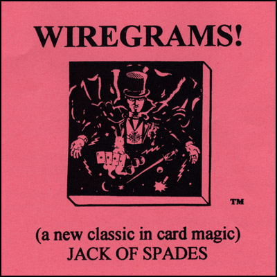 Wiregrams (Jack Of Spades)