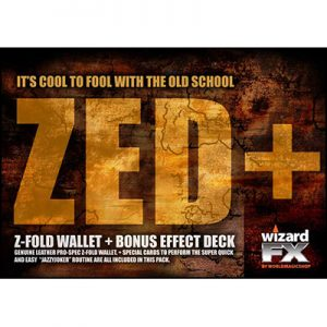 Zed Wallet (With Jazzy Joker Trick) by World Magic Shop