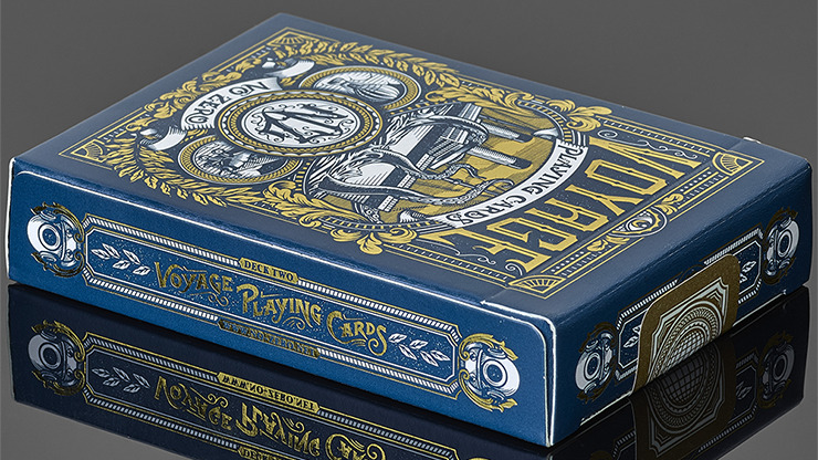 Voyage (Blue) Playing Cards
