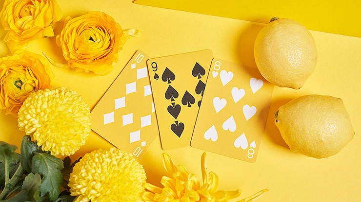 Keep Smiling Pearl Gold V2 Playing Cards by Bocopo