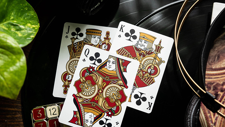 Bicycle Scarlett Playing Cards by Kings Wild Project Inc.
