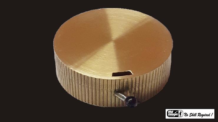 Jumbo Reel (Brass) by Mr. Magic