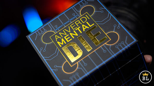 MENTAL DIE BLACK (With Online Instruction) by Tony Anverdi
