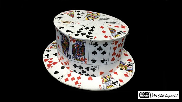 Card Fan to Top Hat by Mr. Magic