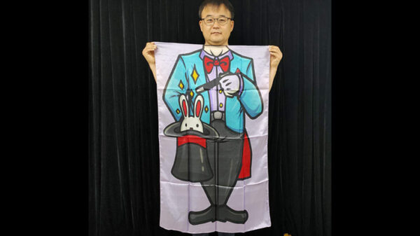 Character Silk (Magician) 35 X 43 by JL Magic