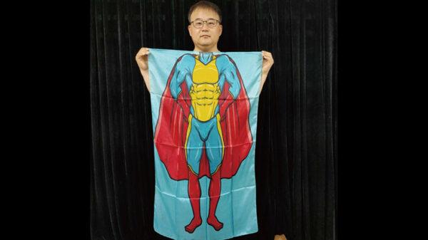 Character Silk (Super Boy) 35 X 43 by JL Magic