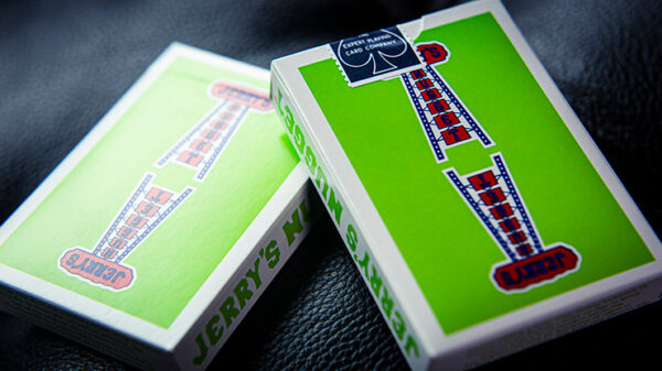 Vintage Feel Jerry's Nuggets (Green) Playing Cards