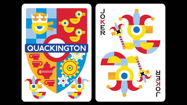 Quackington Playing Cards by by fig.23