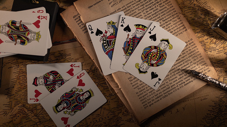 Time (Marked) Playing Cards