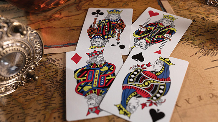 Time Retro Edition (Marked) Playing Cards