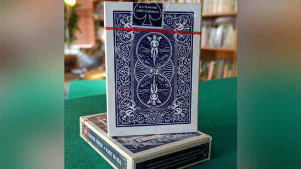 Experts Thin Crushed Rider Back Back (Blue) Playing Cards