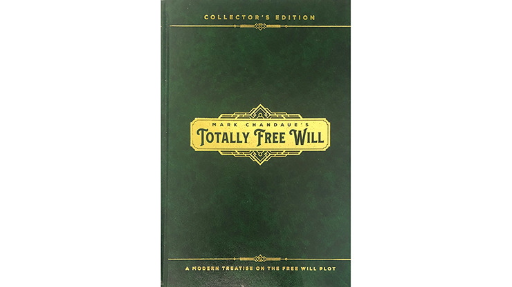 Totally Free Will by Mark Chandaue - Book
