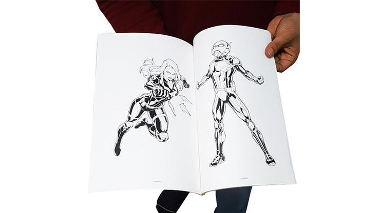 Magic Coloring Book (AVENGERS) by JL Magic