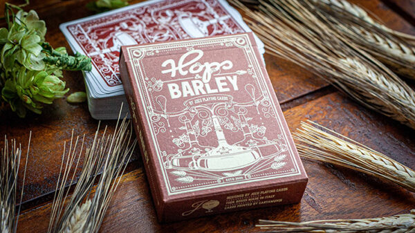 Hops & Barley (Deep Amber Ale) Playing Cards by JOCU Playing Cards