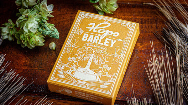 Hops & Barley (Pale Gold Pilsner) Playing Cards by JOCU Playing Cards