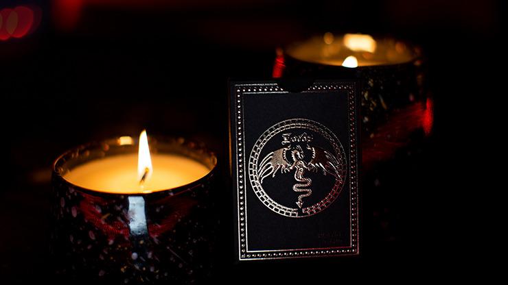 Black Platinum Lordz Playing Cards (Foil)