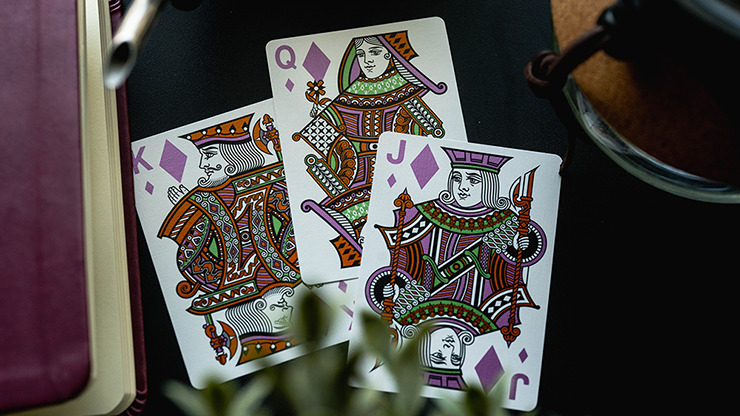 No.13 Table Players Vol.5 Playing Cards by Kings Wild Project