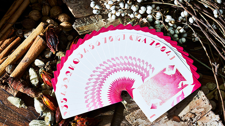 Lonely Wolf (PINK) Playing Cards by Bocopo