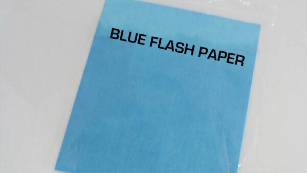 FLASH PAPER BLUE