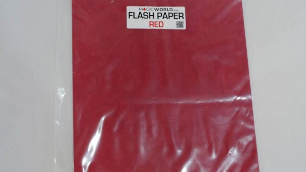 Flash Paper Red