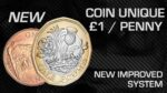 coin unique new pound and penny magic trick