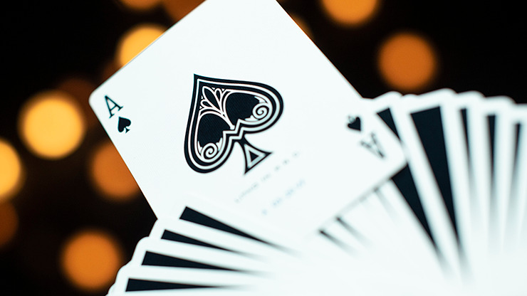 Modern Feel Jerry's Nuggets (Black) Playing Cards