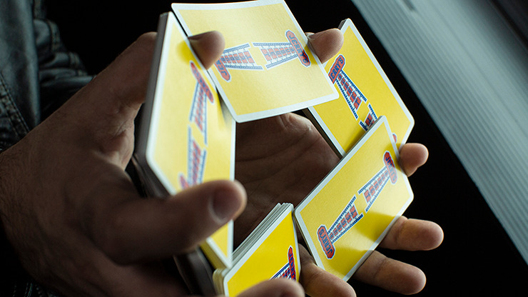 Modern Feel Jerry's Nuggets (Yellow) Playing Cards