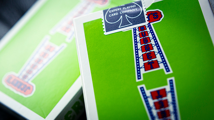 Modern Feel Jerry's Nuggets (Green) Playing Cards