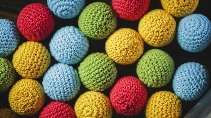 Crochet Ball Set (Blue) by TCC