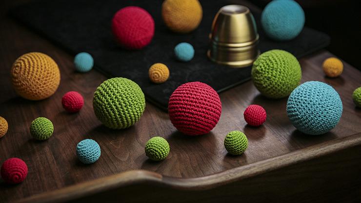 Final Load crochet Ball (Yellow) by TCC