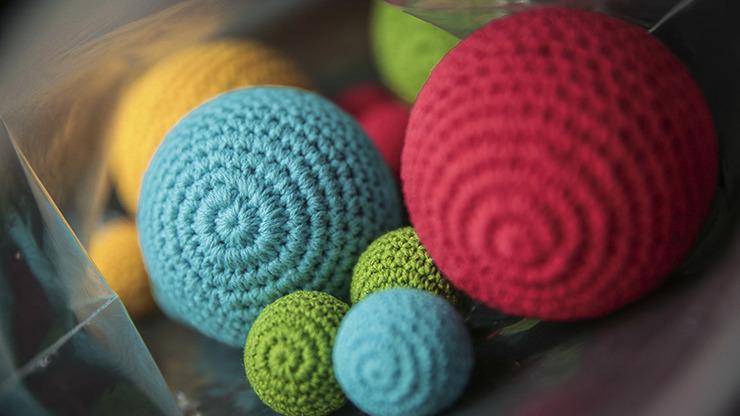 Final Load Crochet Ball (Red) by TCC