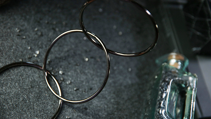 """4"""" Linking Rings (Space Grey) by TCC"""