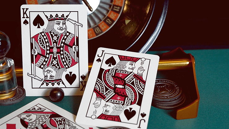 Roulette Playing Cards by Mechanic Industries